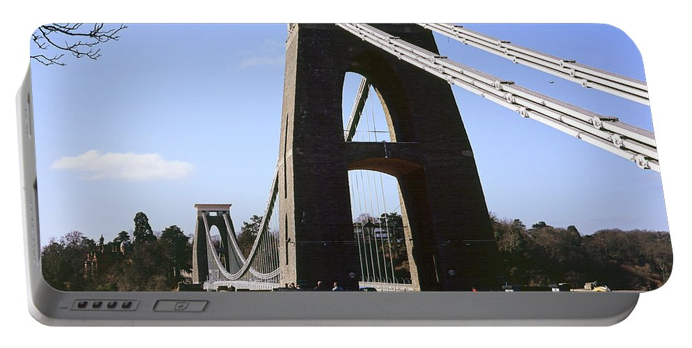 Uk Portable Battery Charger featuring the photograph Clifton Suspension Bridge Bristol by Christopher Rees