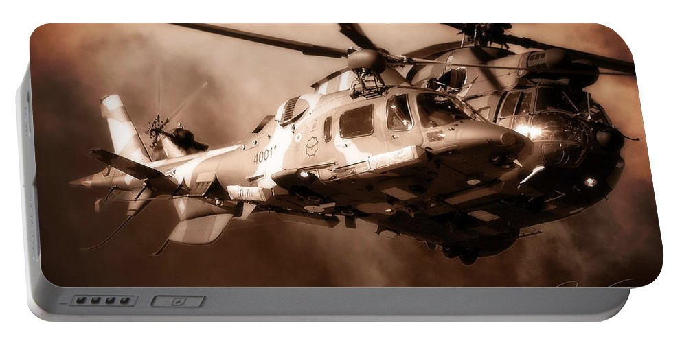 Agustawestland Aw109 Portable Battery Charger featuring the photograph Close Shave by Paul Job