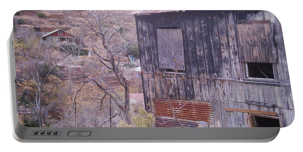Bisbee Portable Battery Charger featuring the photograph Closed by David S Reynolds