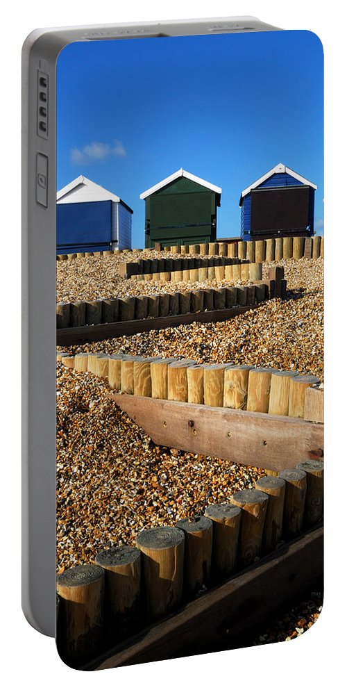 Closed For The Winter Portable Battery Charger featuring the photograph Closed For The Winter by Wendy Wilton