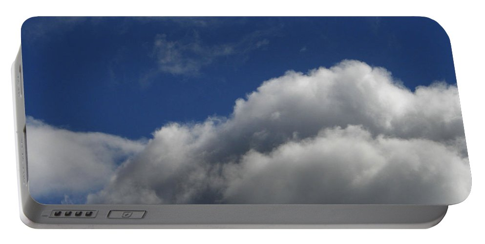 Clouds Portable Battery Charger featuring the photograph Clouds by Carol Lynch