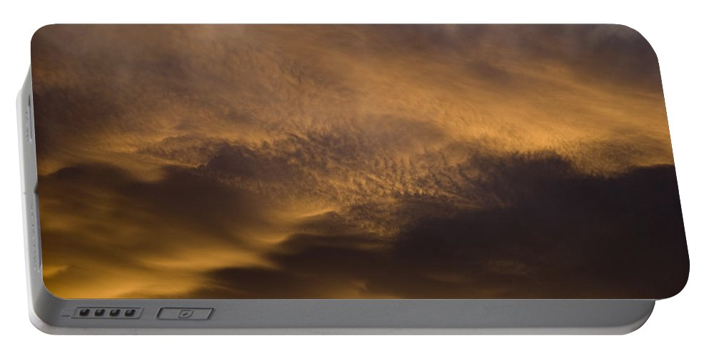 Clouds Portable Battery Charger featuring the photograph Clouds IIi by Robert VanDerWal