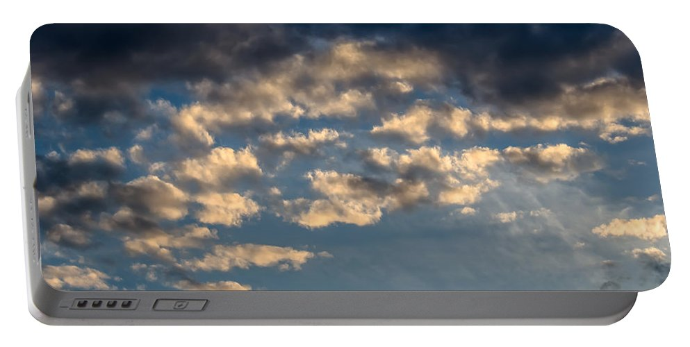 Sky Portable Battery Charger featuring the photograph Clouds by Sotiris Filippou