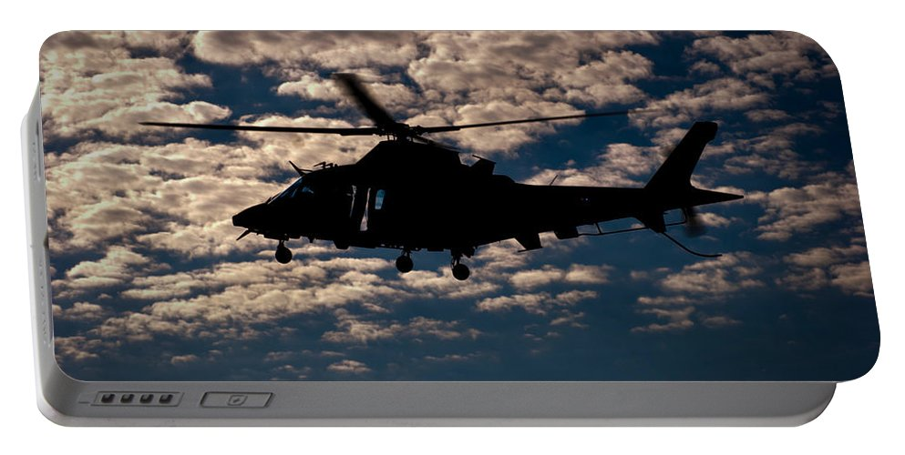 Agustawestland Aw109 Portable Battery Charger featuring the photograph Cloudy Day by Paul Job