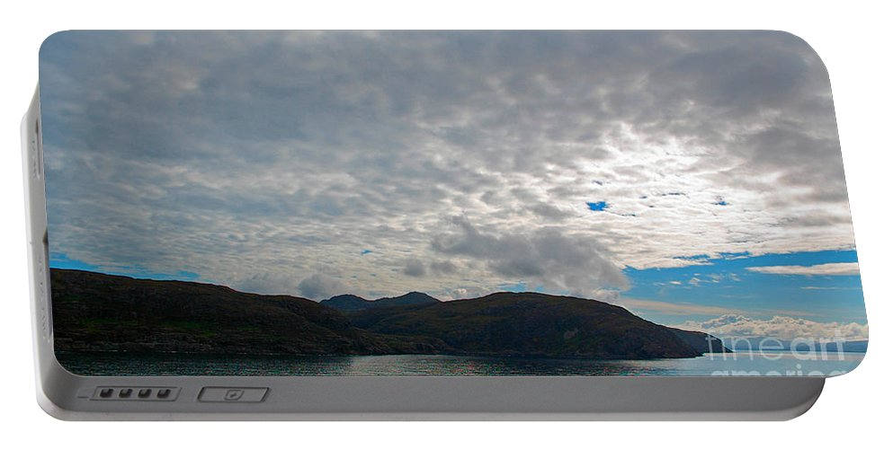 Coast Portable Battery Charger featuring the photograph Coast N Clouds 1 by Nancy L Marshall