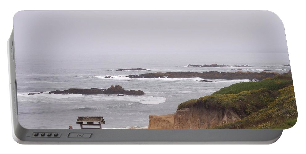 Coast Portable Battery Charger featuring the photograph Coastal Scene 7 by Pharris Art