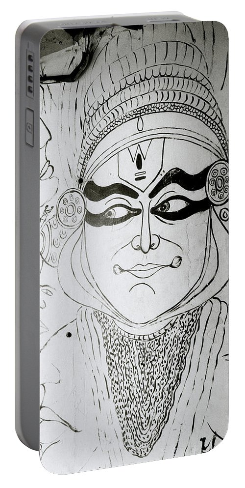 Graffiti Portable Battery Charger featuring the photograph Cochin Portrait by Shaun Higson
