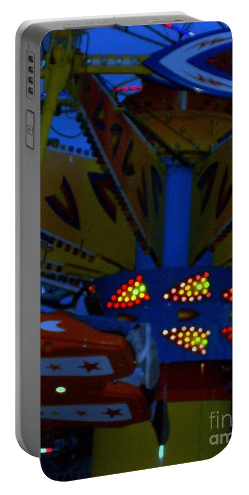 Picasa Portable Battery Charger featuring the photograph Color Bam by Laurette Escobar