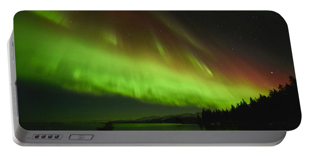 Aurora Portable Battery Charger featuring the photograph Color Coordination by Ted Raynor