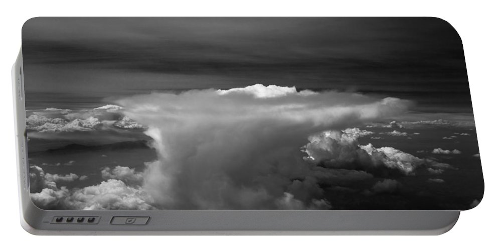 Colorado Portable Battery Charger featuring the photograph Colorado Anvil by John Daly
