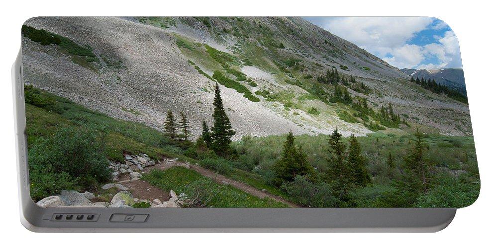 Landscape Photograph Portable Battery Charger featuring the photograph Colorado Mountain Landscape by Cascade Colors
