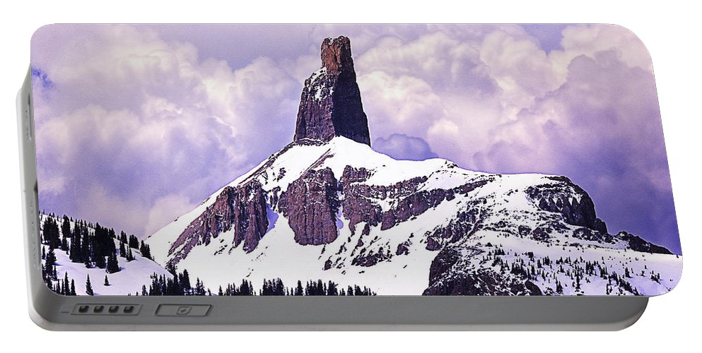 Lizard Head Pass Portable Battery Charger featuring the photograph Colorados Lizard Head by Janice Rae Pariza