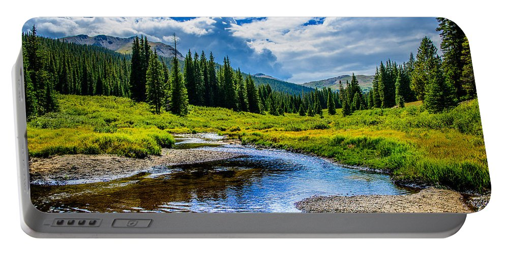 Colorado Portable Battery Charger featuring the photograph Colorful Colorado by Jacquelyn Crady