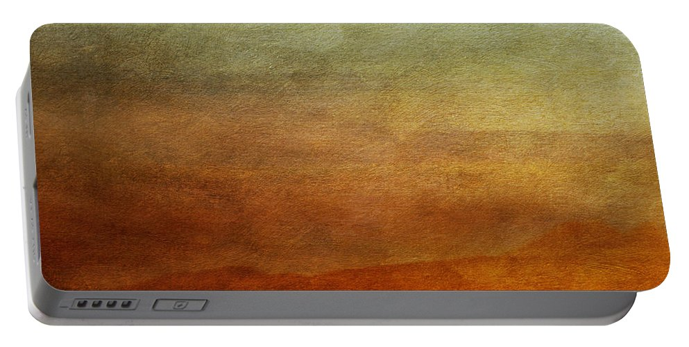 Abstraction Portable Battery Charger featuring the photograph Colours Of The Fall by Priska Wettstein