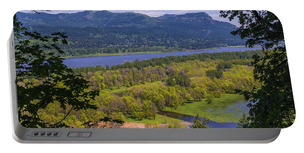 Columbia River Gorge Portable Battery Charger featuring the photograph Columbia River Gorge - Oregon by Yefim Bam