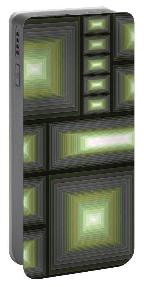 Tablet Portable Battery Charger featuring the digital art Composition 113 by Terry Reynoldson