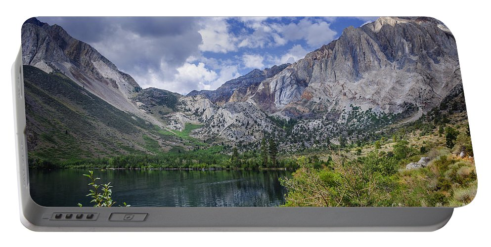 Lake Portable Battery Charger featuring the photograph Convict Lake by Dianne Phelps