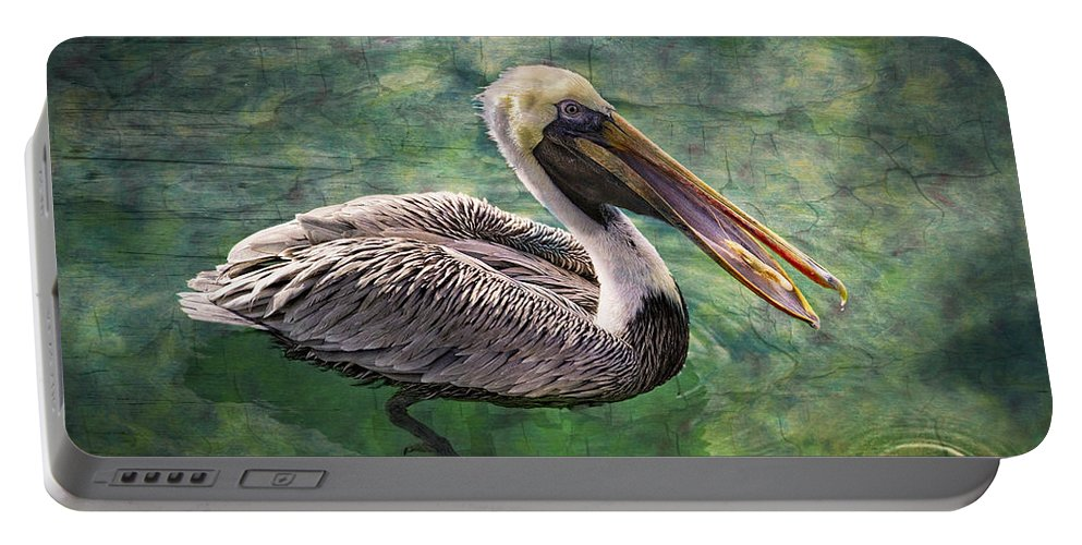 Animals Portable Battery Charger featuring the photograph Cool Waters by Debra and Dave Vanderlaan