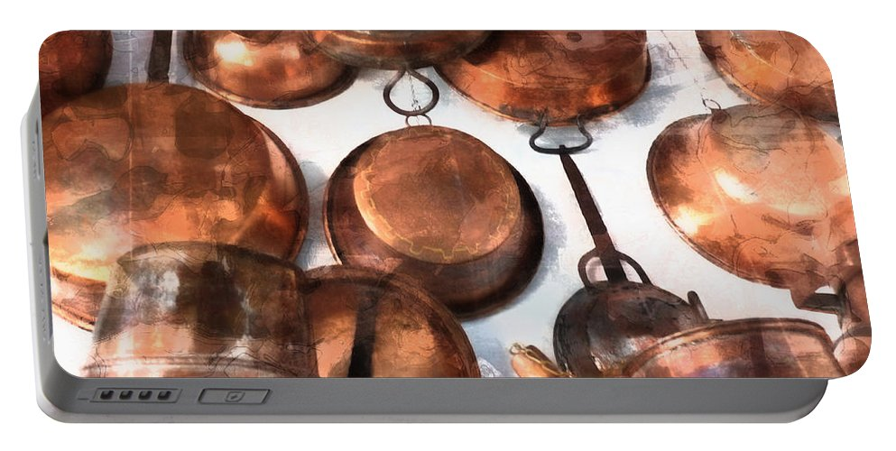 Copper Portable Battery Charger featuring the photograph Copper - Featured In Inanimate Objects Group by Ericamaxine Price