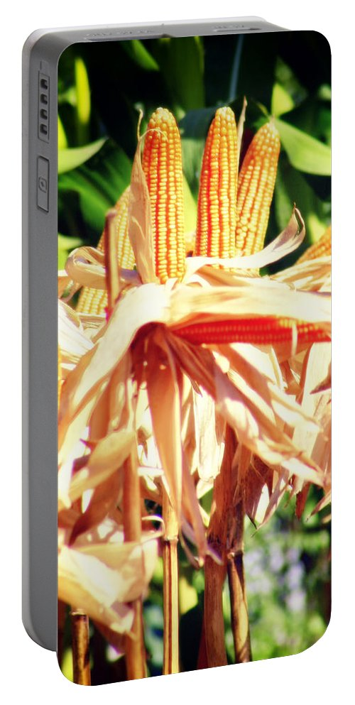 Thailand Portable Battery Charger featuring the photograph Corn by A Rey