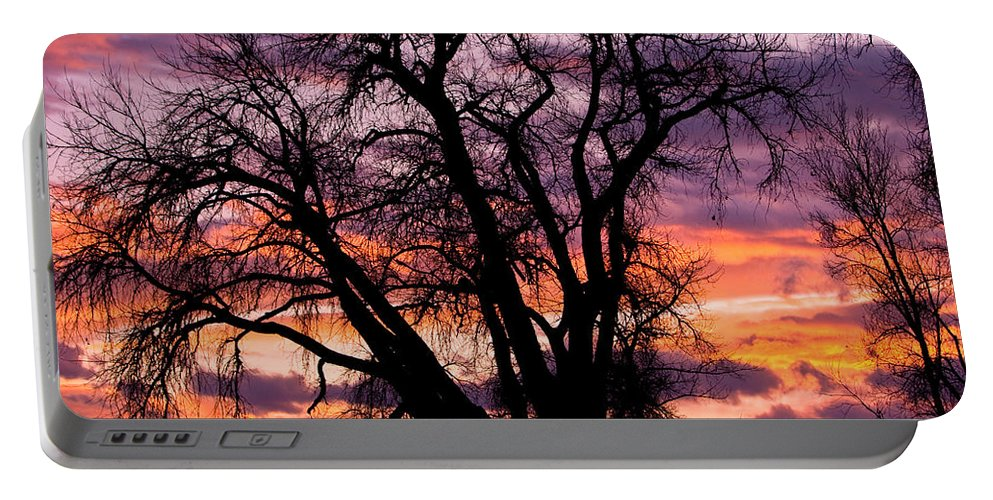 Sunsets Portable Battery Charger featuring the photograph County Sunset by James BO Insogna