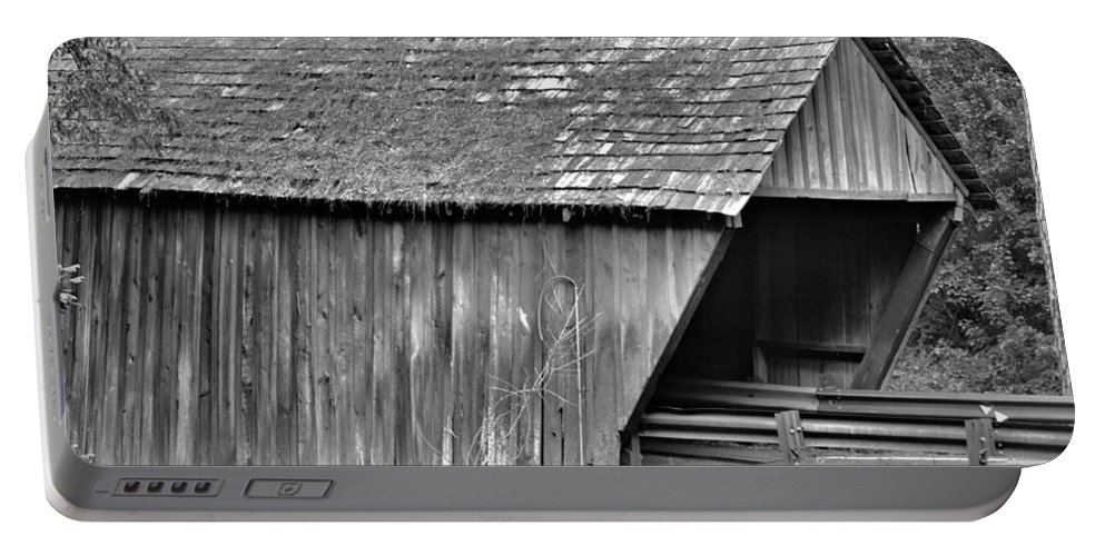 Covered Bridge Portable Battery Charger featuring the photograph Covered Bridge by Tara Potts
