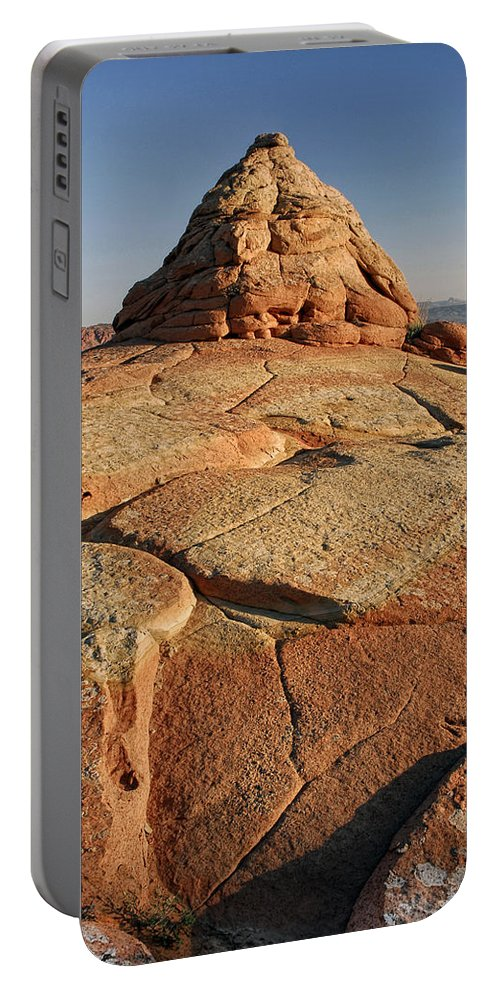 Coyote Buttes Portable Battery Charger featuring the photograph Coyote Buttes Rock Formation by Dave Mills