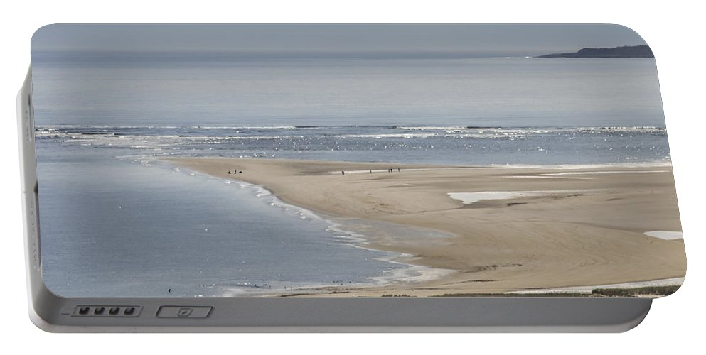 Crane Estate Portable Battery Charger featuring the photograph Crane Beach Mid May by David Stone