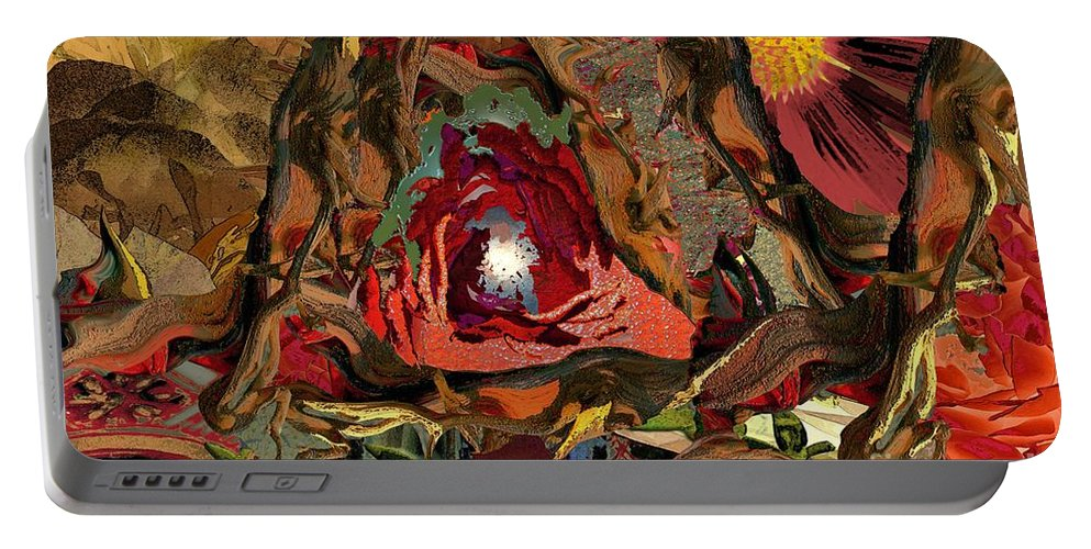 Creation Portable Battery Charger featuring the photograph Creation by Paul Gentille