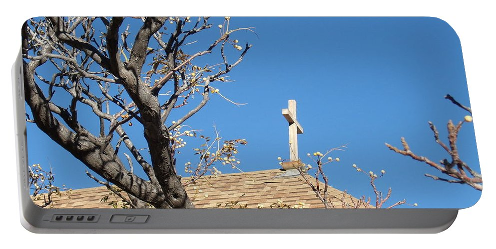 Bisbee Portable Battery Charger featuring the photograph Cross by David S Reynolds