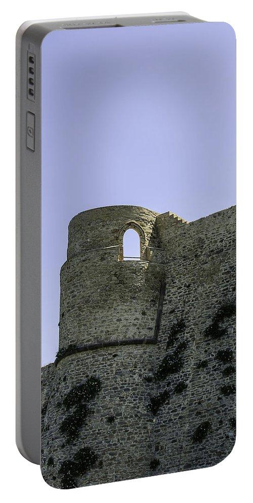 Castle Portable Battery Charger featuring the photograph Cruenta Pugna by Andrea Mazzocchetti