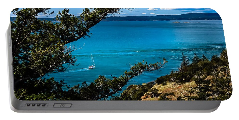Trees Portable Battery Charger featuring the photograph Cruising by Robert Bales