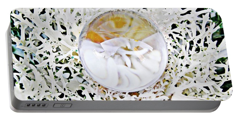 Crystal Portable Battery Charger featuring the photograph Crystal Ball Project 87 by Sarah Loft