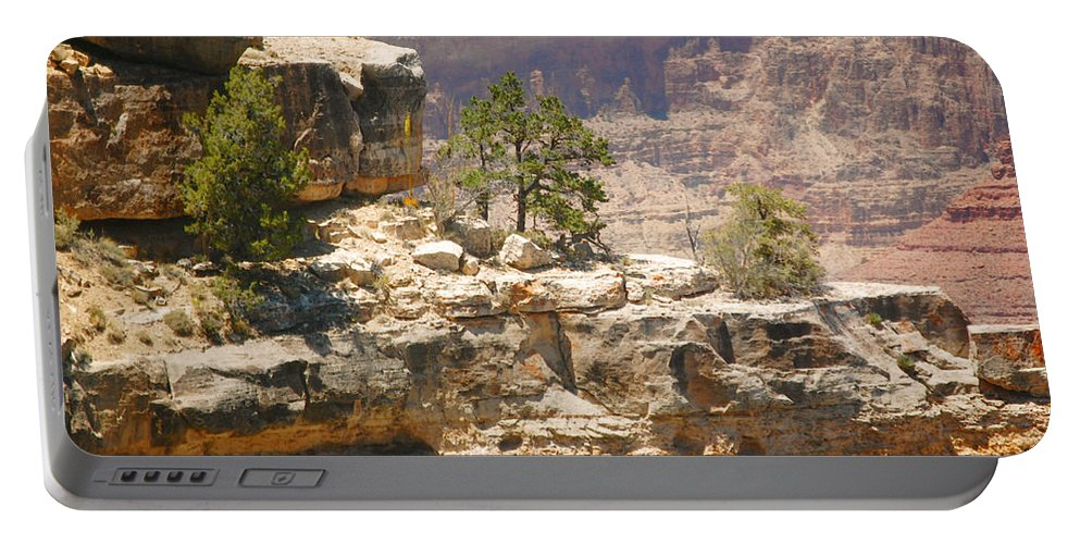 Grand Canyon Portable Battery Charger featuring the photograph Cutting Edge by Leticia Latocki