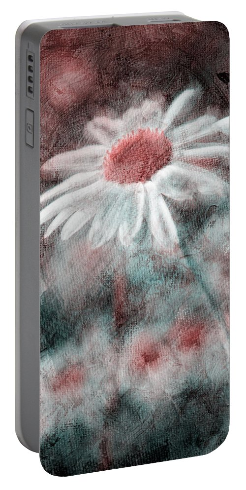 Daisies Portable Battery Charger featuring the photograph Daisies ... Again - P11ac2t1 by Variance Collections