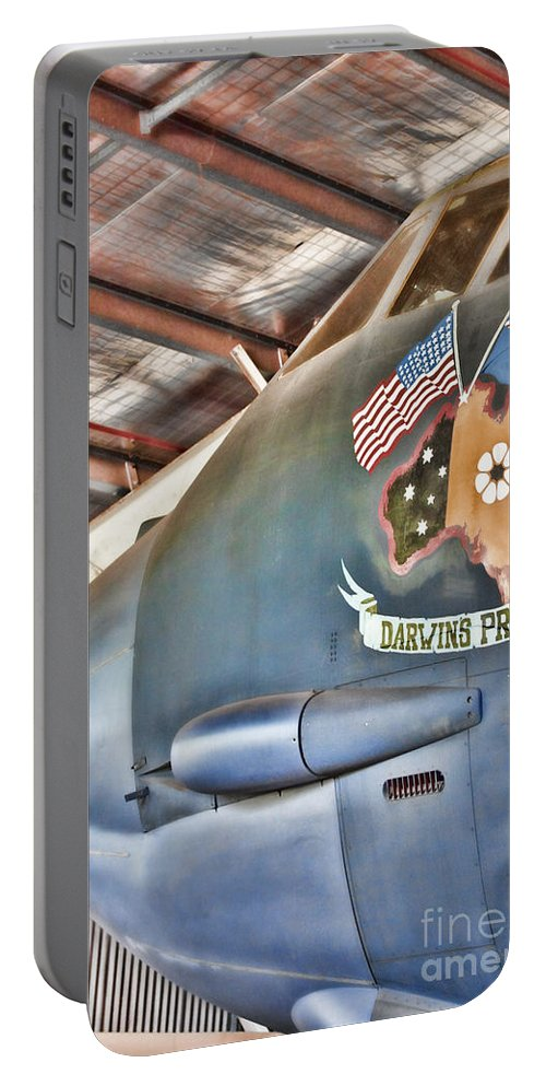 Darwin's Pride Portable Battery Charger featuring the photograph Darwin's Pride-b52 Bomber by Douglas Barnard