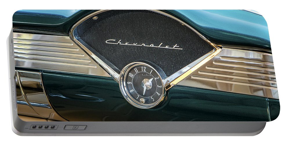 Chevrolet Portable Battery Charger featuring the photograph Dashing by Caitlyn Grasso