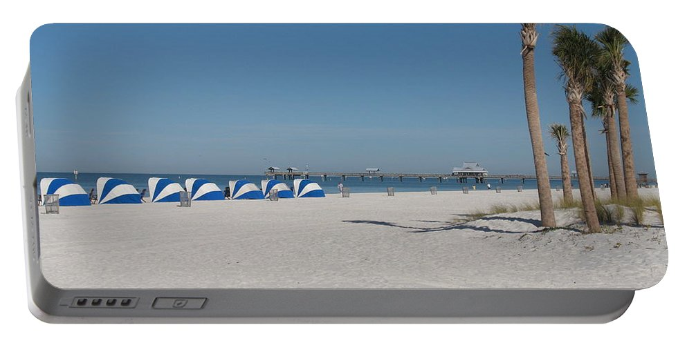 Beach Portable Battery Charger featuring the photograph Day On The Beach by Christiane Schulze Art And Photography