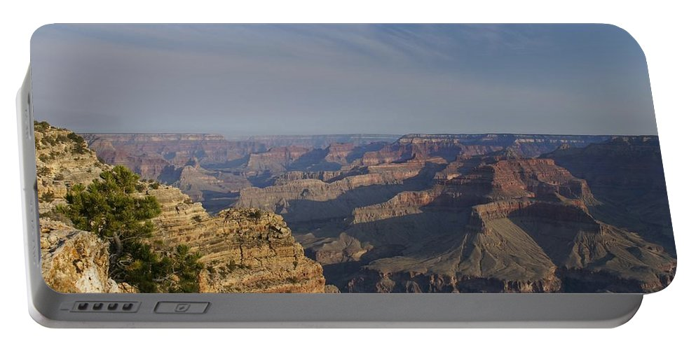 Grand Canyon Portable Battery Charger featuring the photograph Daybreak At The Canyon by Brian Kamprath