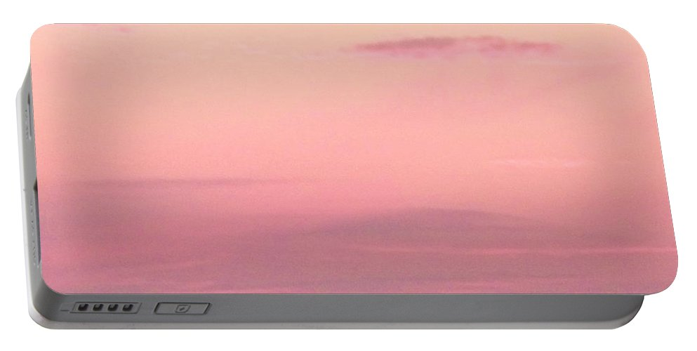 Sky Portable Battery Charger featuring the photograph Days End Sky At Cape May Nj by Eric Schiabor