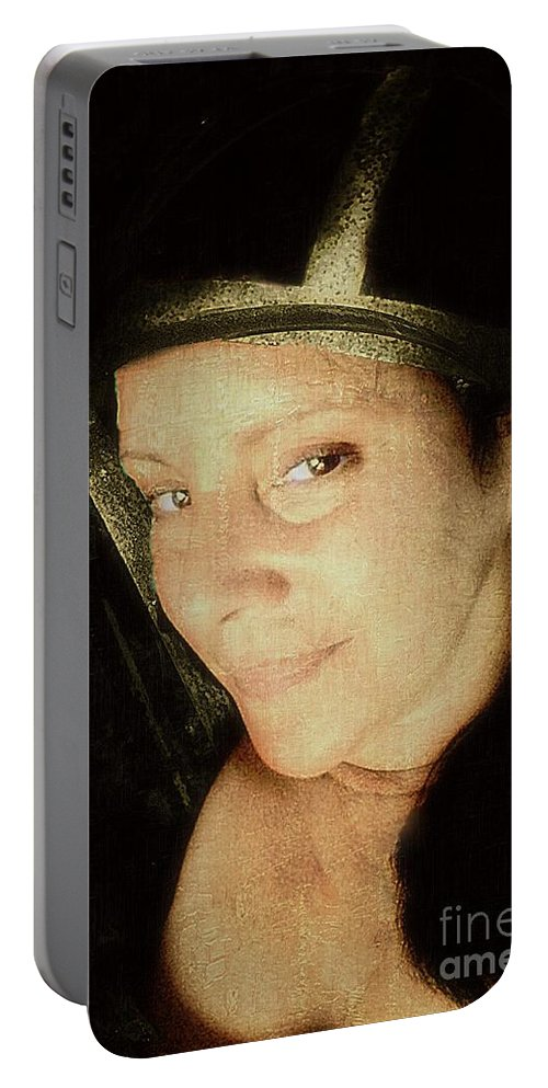 Juana De Arco Portable Battery Charger featuring the photograph De Arco by Lilliana Mendez
