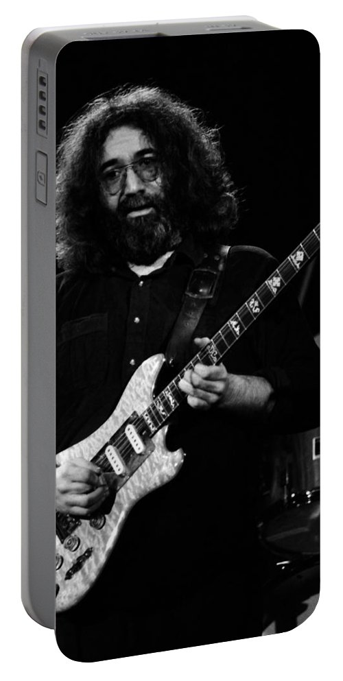 Jerry Garcia Portable Battery Charger featuring the photograph Dead #2 Crop A by Ben Upham