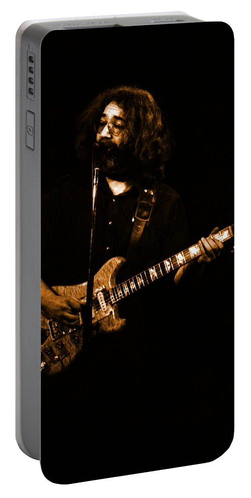 Grateful Dead Portable Battery Charger featuring the photograph Dead #29 In Amber by Ben Upham