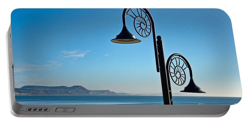 Yme Regis Portable Battery Charger featuring the photograph December Morning by Susie Peek
