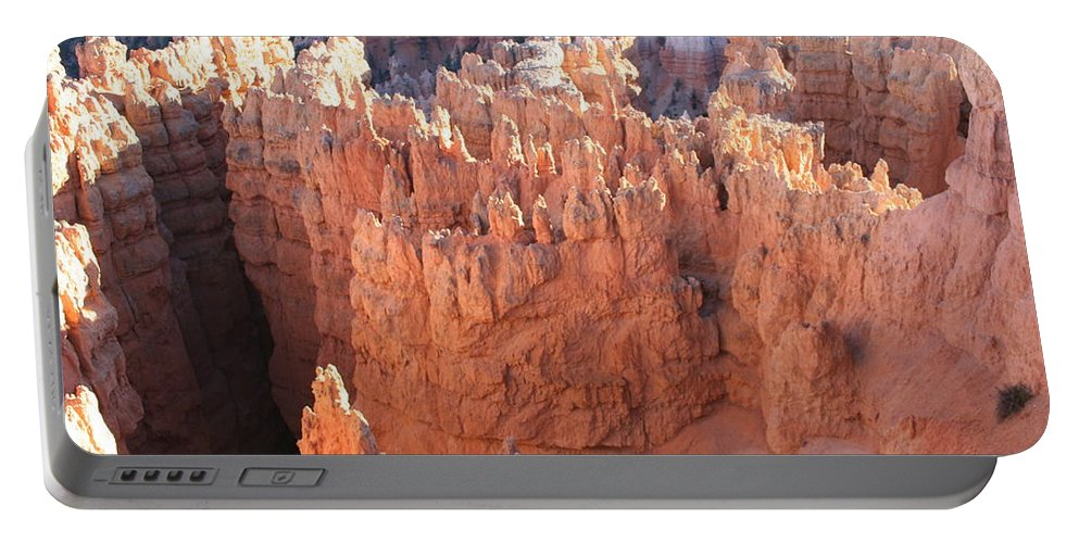 Canyon Portable Battery Charger featuring the photograph Deep Canyon - Bryce Np by Christiane Schulze Art And Photography