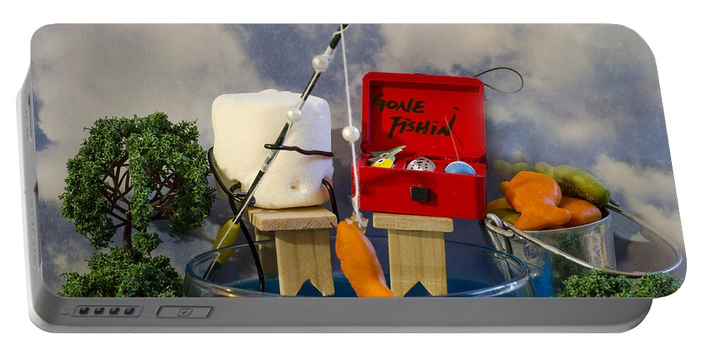 Fishing Portable Battery Charger featuring the photograph Delicious Fish by Heather Applegate