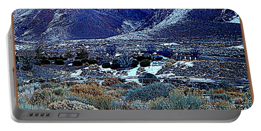 Acrylic Prints Portable Battery Charger featuring the photograph Desert Life by Bobbee Rickard