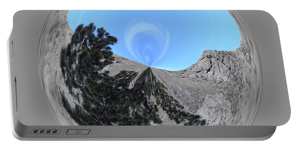 Orb Portable Battery Charger featuring the photograph Desert Orb 2 by Brent Dolliver