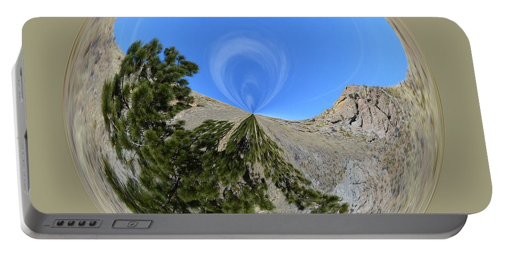 Orb Portable Battery Charger featuring the photograph Desert Orb by Brent Dolliver