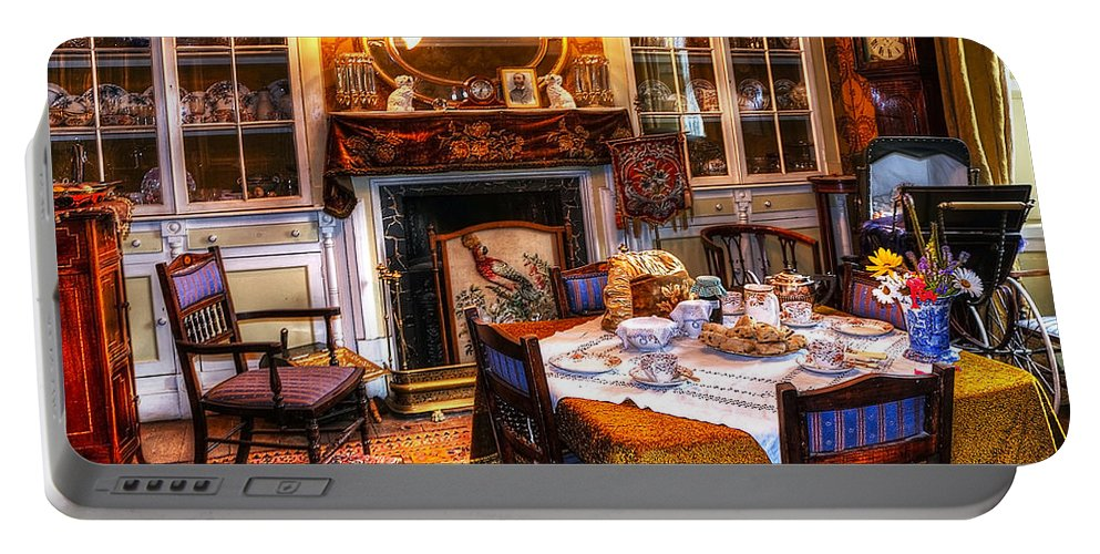 Beamish Portable Battery Charger featuring the photograph Dinning Room by Svetlana Sewell